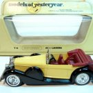 1938 Lagonda - Matchbox Models of Yesteryear - MINT
