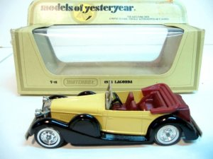 1938 Lagonda - Matchbox Models of Yesteryear - MINT