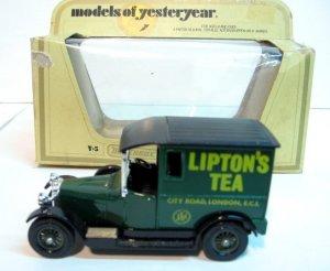 "1927 Talbot ""Lipton Tea"" - Matchbox Models of Yest MINT"