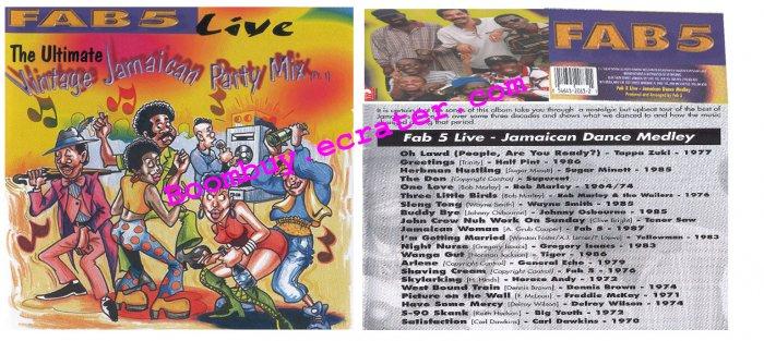 Fab 5: Vintage Jamaican Party Mix Live Vol. 1