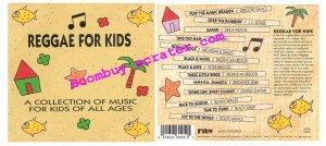 Various Artists: Reggae For Kids ( vocal)