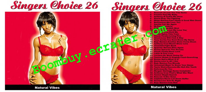 Natural Vibes: Singers Choice 26