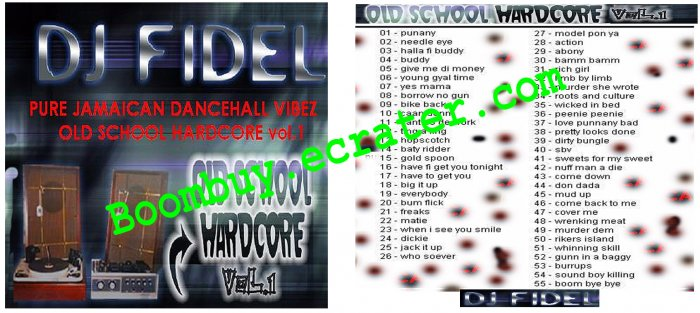 Dj Fidel: Old School Hardcore Vol.1