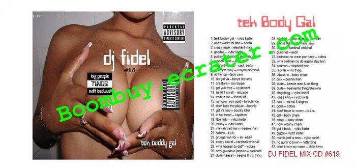 Dj Fidel:  Tek Body Gal #619