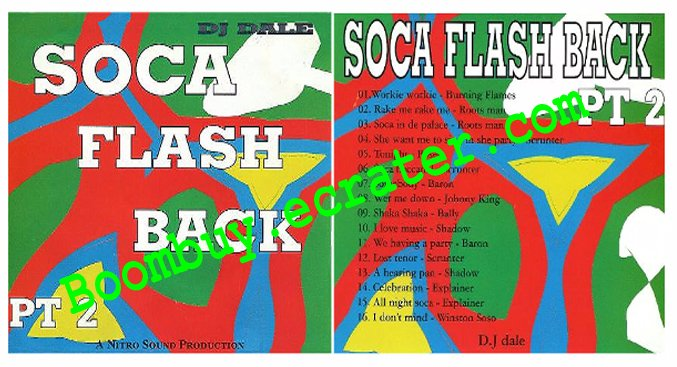 Dj Dale: Soca Flasback Vol. 2