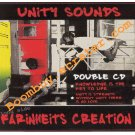 Unity Sound System And Farinheits Creation: Culture Mix ( Double Cd ) Rare