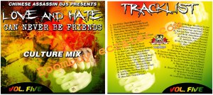 Chinese Assassin: Love And Hate Vol. 5 ( 2010 Mix }