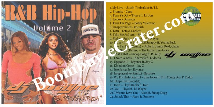 Dj Wayne: R&B Hip-Hop Vol. 2