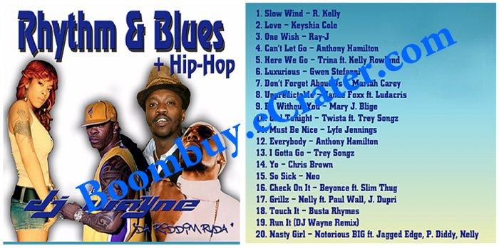 Dj Wayne: Rythm And Blues Hip-Hop