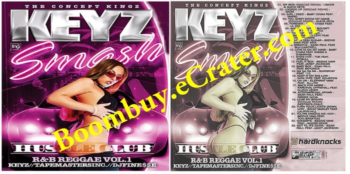 Keyz Smash:  R&B Reggae  Vol. 1