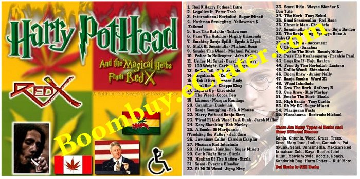 Red-X: Harry Pothead