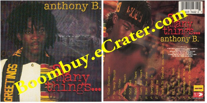 Anthony B: So Many Things.......