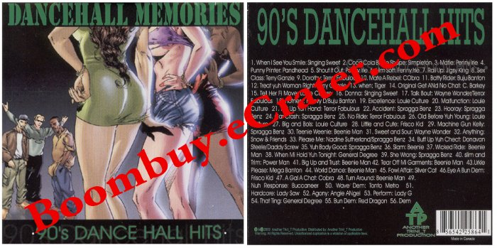 Various Artists: Dancehall Memories 90's Hits