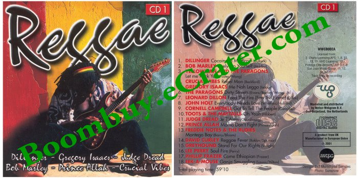 Various Artists: Reggae Cd 1