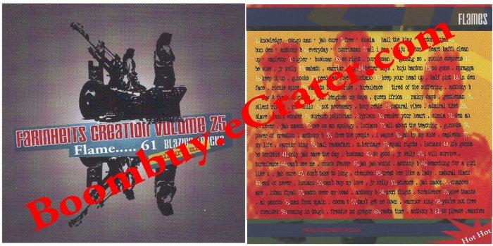 Farinheit Creations: Culture Vol. 25..........FLames