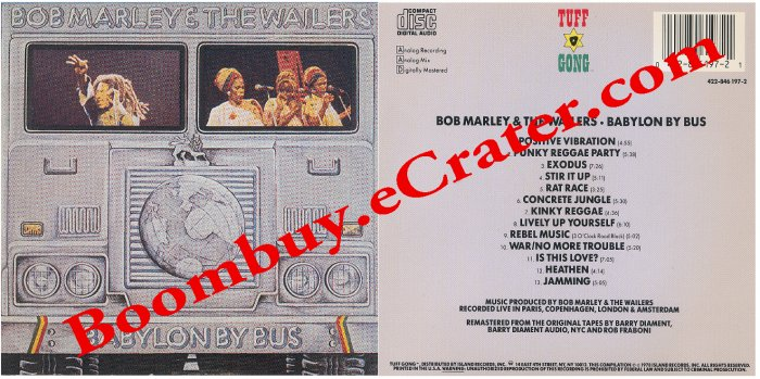 Bob Marley: Babylon By Bus