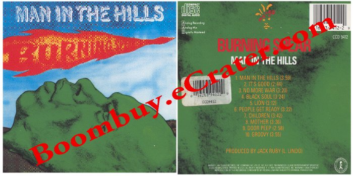 Burning Spear: Man In The Hills
