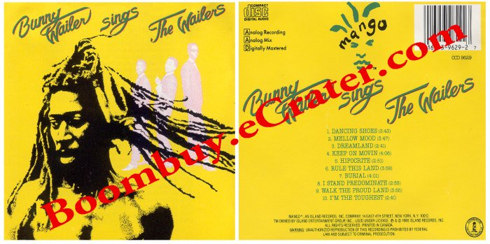 Bunny Wailer: Sings The Wailers