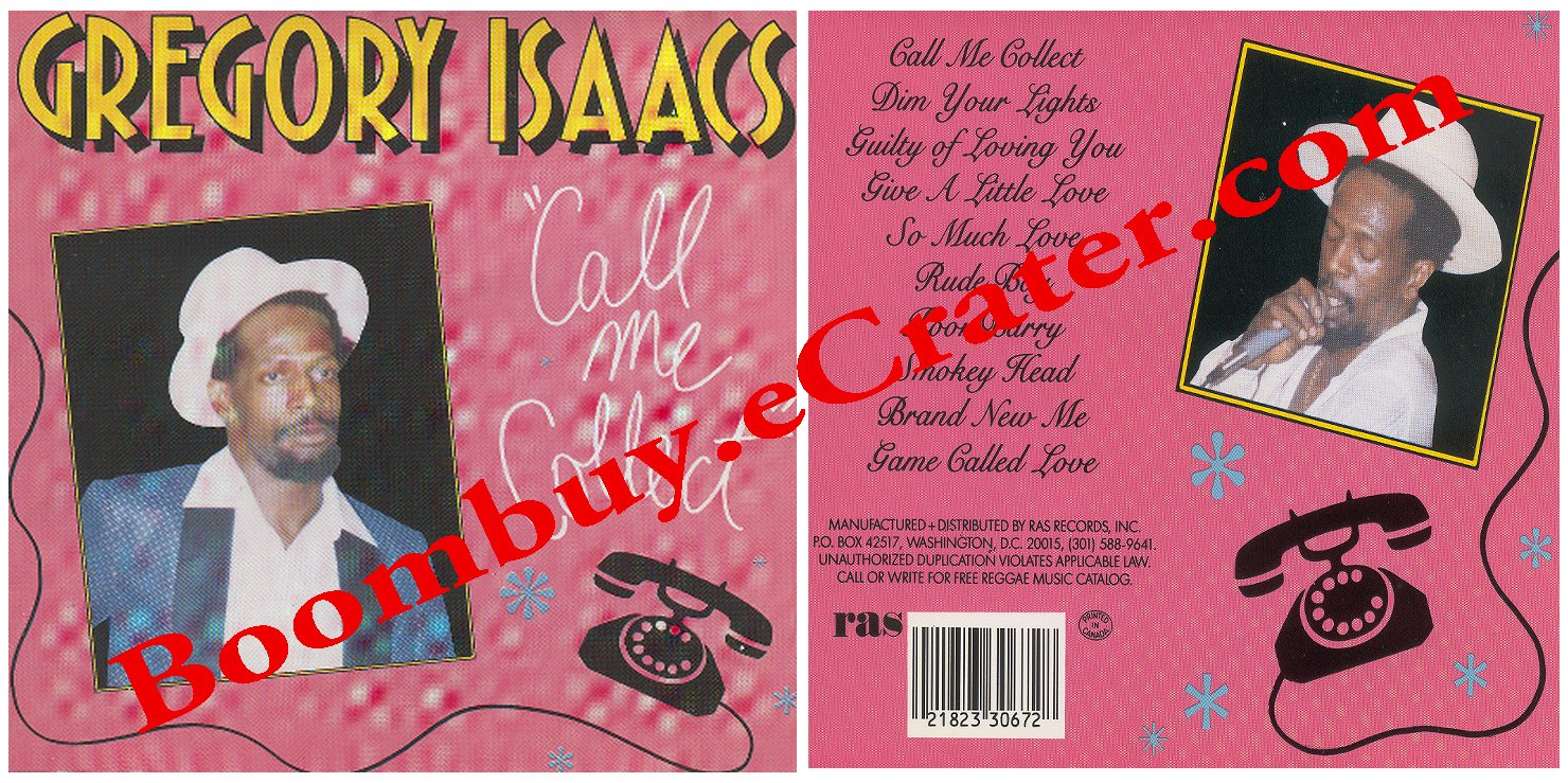 Gregory Isaacs: Call Me Collect