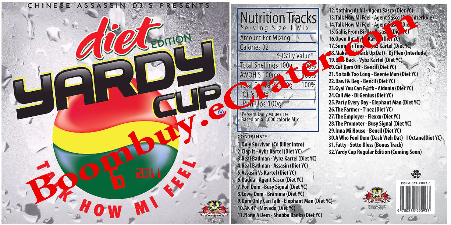 Chinese Assassin: **** Yardy Cup 6 ( Diet Edition )