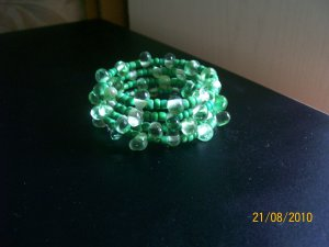Wrap Bracelet in Green