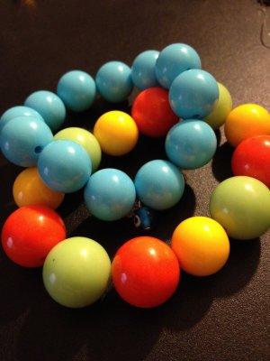 Baby Blue with Evil Eye & Multicolored Bracelet Set