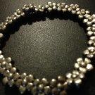 Flower Bracelet in Silver