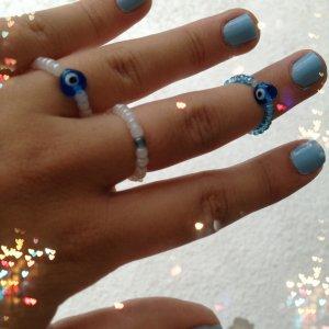 Evil Eye Rings
