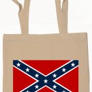 Confederate Rebel Flag Tote Bag