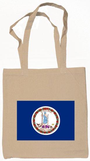 Virginia State Flag Tote Bag