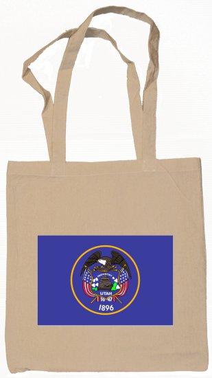 Utah State Flag Tote Bag