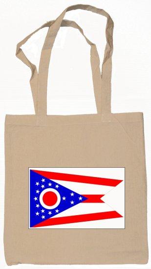 Ohio State Flag Tote Bag