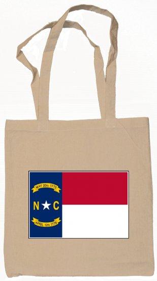 North Carolina State Flag Tote Bag