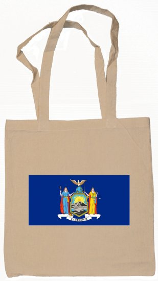 New York State Flag Tote Bag