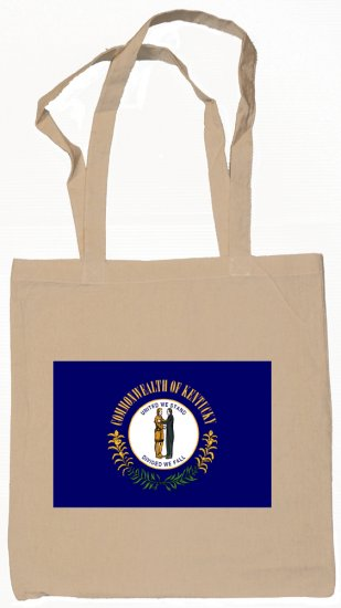 Kentucky State Flag Tote Bag