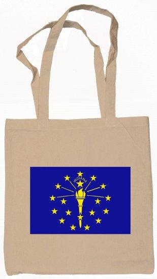 Indiana State Flag Tote Bag