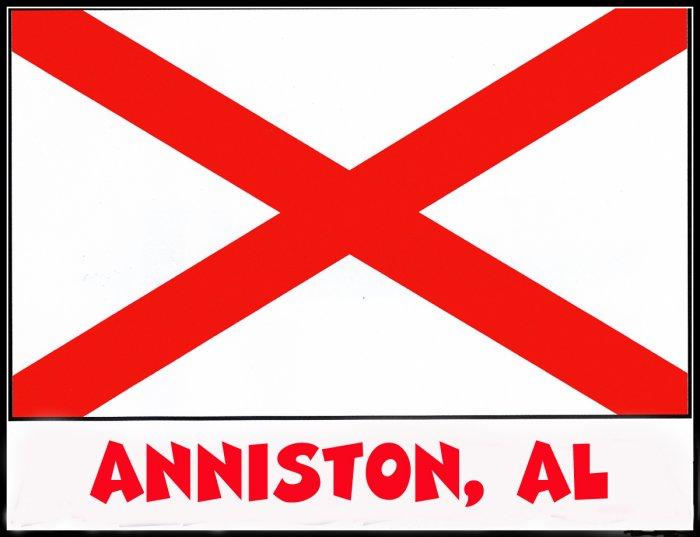 Anniston Alabama Souvenir Tote Bag