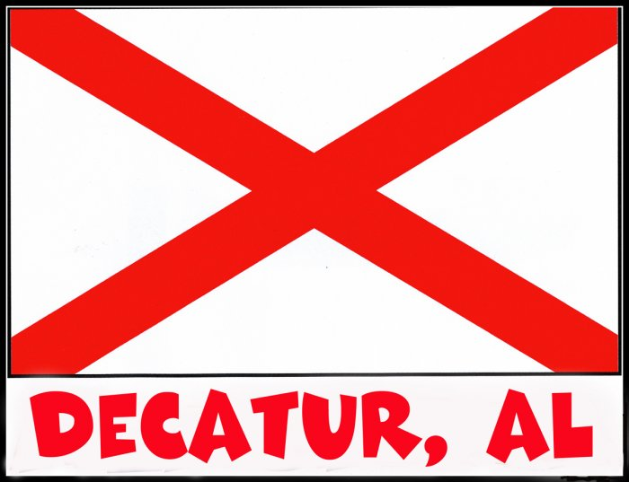 Decatur Alabama Souvenir Tote Bag