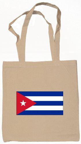 Cuba Cuban Flag Souvenir Canvas Tote Bag Shopping School Sports Grocery Eco
