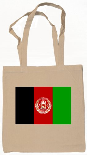 Afghanistan Afghan Flag Souvenir Canvas Tote Bag Shopping School Sports Grocery Eco