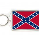Confederate Rebel Flag Key Ring-Large