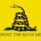 3' x 5' Gadsden Don't Tread on Me Rattlesnake Flag