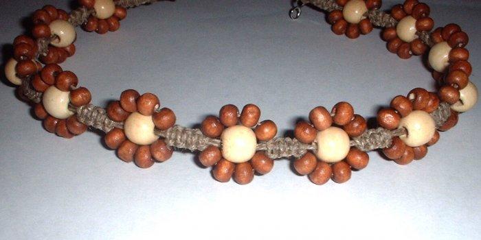 Hemp Flower Necklace Choker