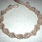 Thick Hemp Twist Choker Necklace