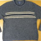 Mens AMERICAN EAGLE V-Neck Knit Gray Sweater XL