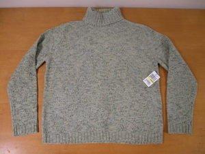 NEW Chenille CAROLYN TAYLOR Macy's Turtleneck Sweater M