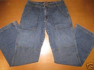 Juniors ROXY QUIKSILVER ROXYJEAN Wide Leg Jeans 7 Cute!