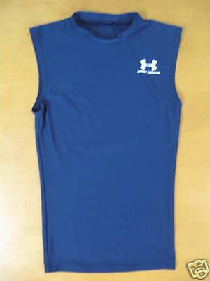 Navy Blue UNDER ARMOUR Tank Shirt Top