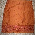Asian Inspired Silk AMERICAN EAGLE Skirt Sz 0