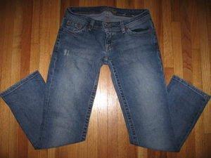 AE AMERICAN EAGLE Flap Pocket Jean CaprisStretch 2 Reg
